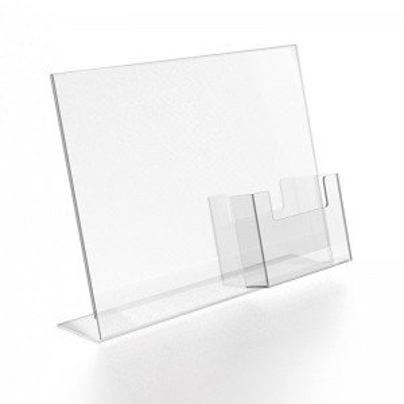 Portagráfica modelo - L portafolletos Porta folletos sobremesa-10%