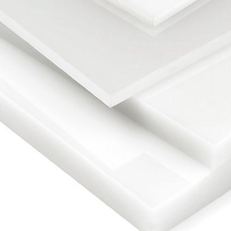 Metacrilato blanco opal Planchas de metacrilato