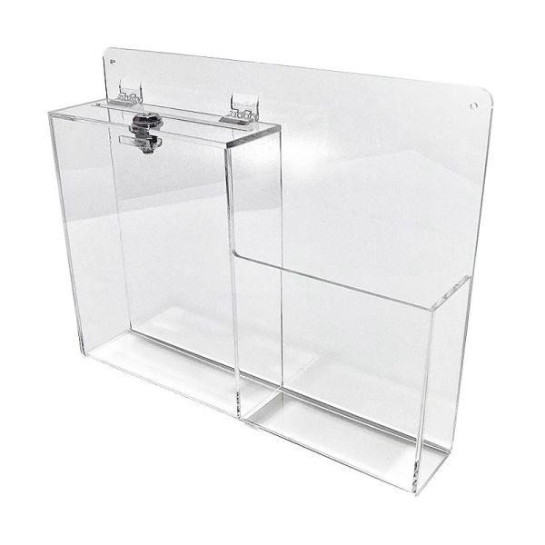 Buzón sugerencias transparente Buzones-5%