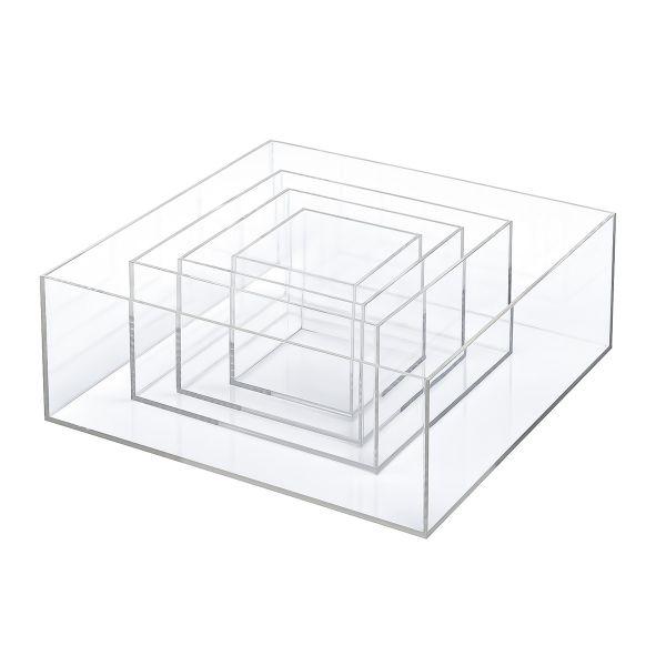 Set 4 cajas metacrilato Vitrinas de metacrilato-10%
