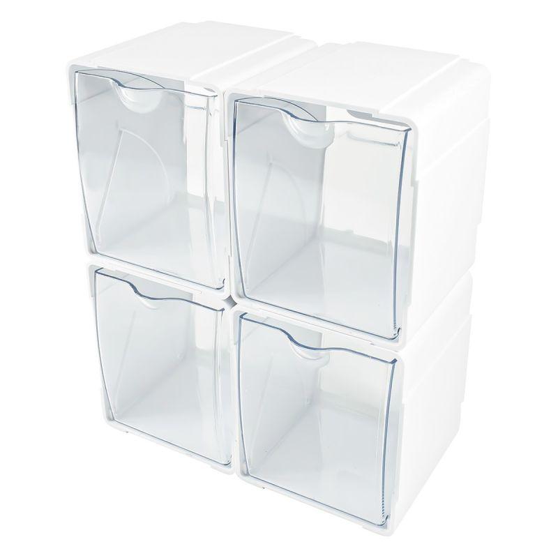 Set 4 cubos de organización Dispensadores-10%