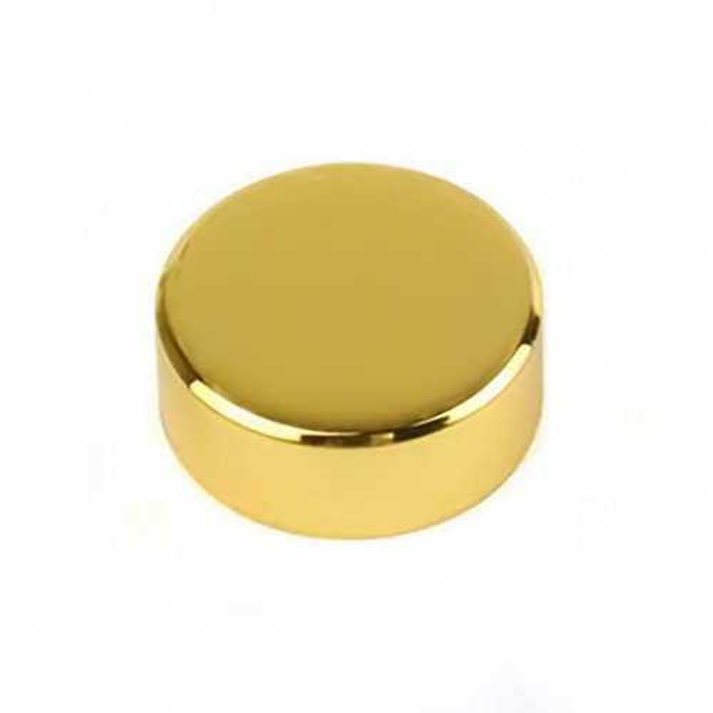 Cubre tornillo cromado oro Herrajes-5%