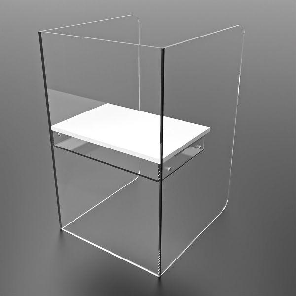 Pupitre burbuja box Mamparas de metacrilato