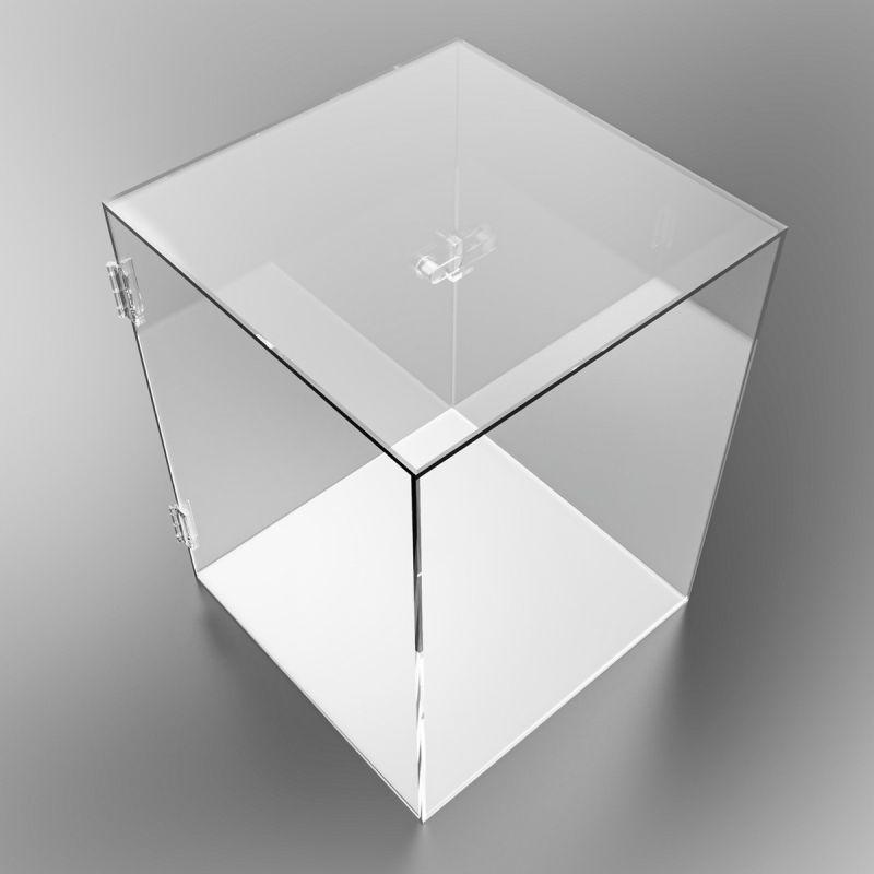 Vitrina con puerta Cubos y Vitrinas-5%