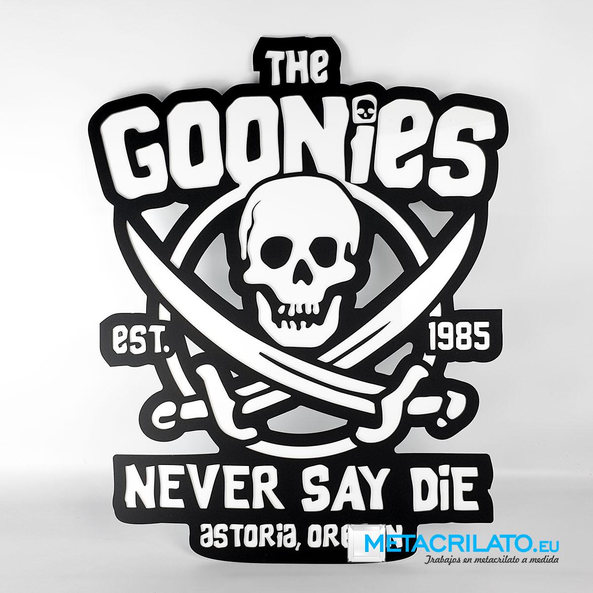 The goonies metacrilato