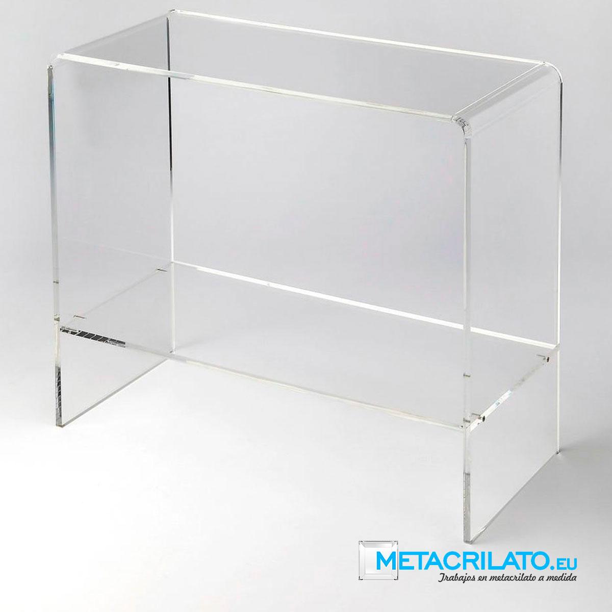 Mobiliario de metacrilato