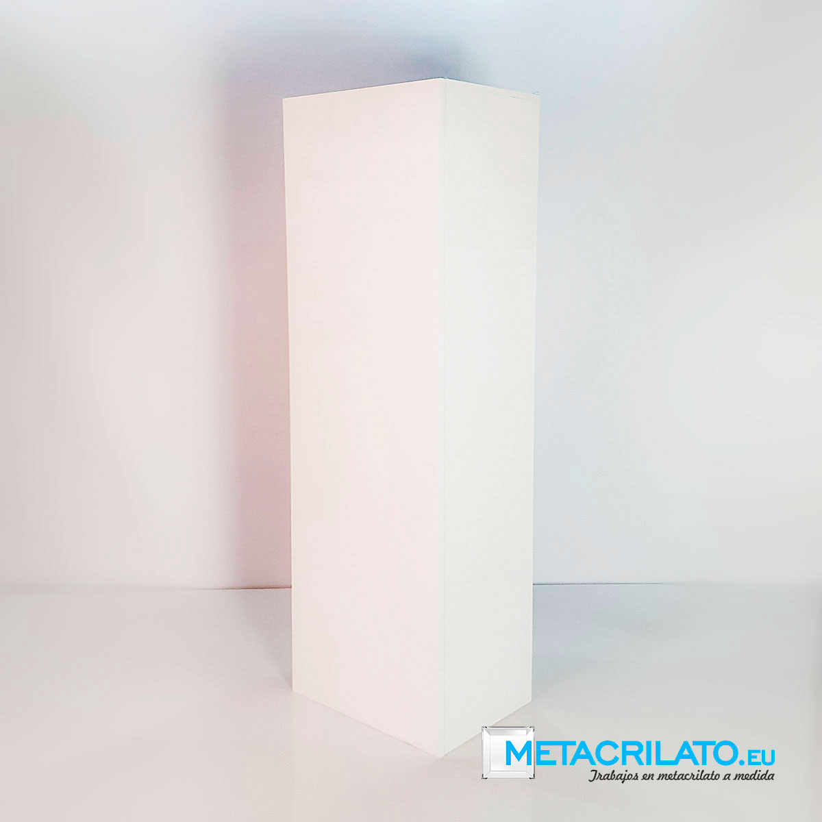 metacrilato blanco opaco