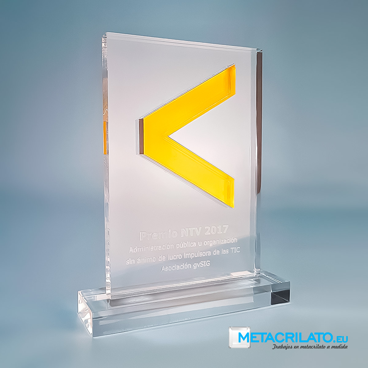 trofeo de metacrilato
