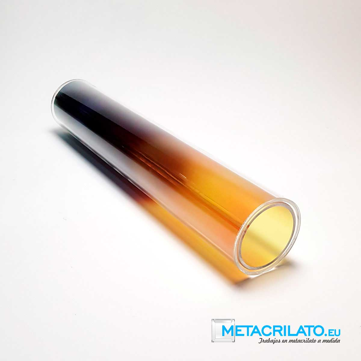 Tubo metacrilato